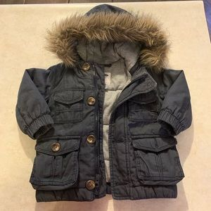 Old Navy winter coat 12-18M